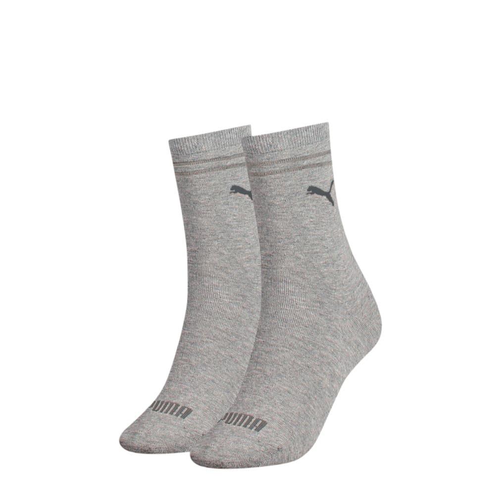 Изображение Puma Носки Women's Socks 2 pack #1: grey melange