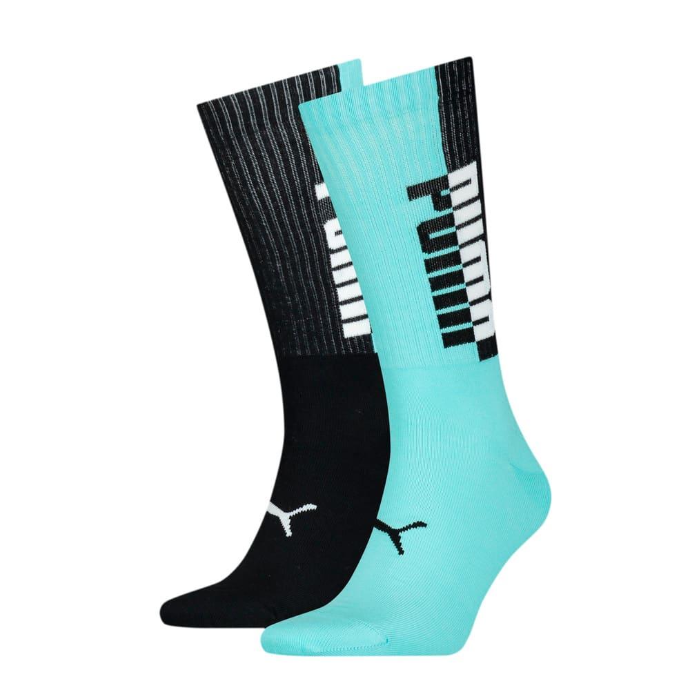 Изображение Puma Носки Men's Seasonal Socks 2pack #1: blue / black