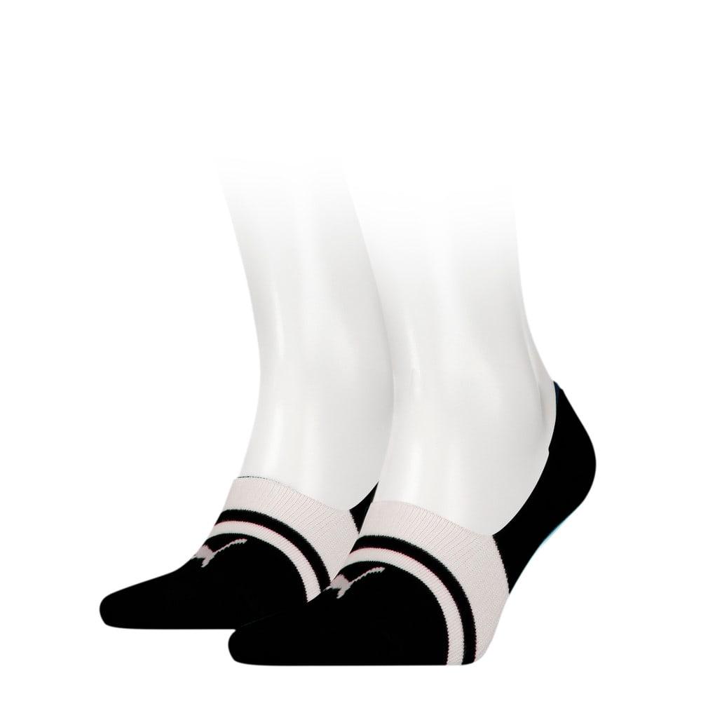 Зображення Puma Шкарпетки Unisex Heritage Footie Socks 2pack #1: black