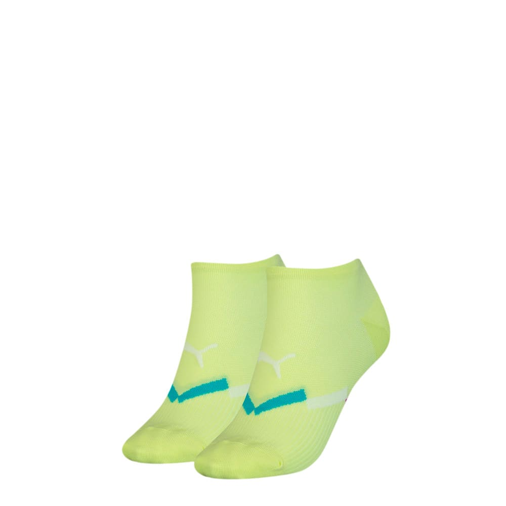Зображення Puma Шкарпетки Women's Seasonal Sneaker Socks 2pack #1: neon yellow