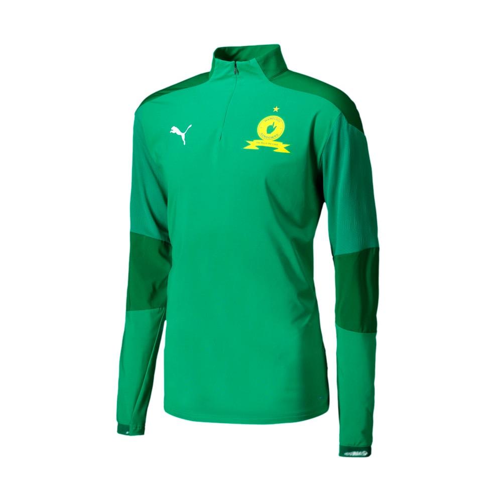 Image Puma Mamelodi Sundowns Quarter-Zip  Men's Football Top #1