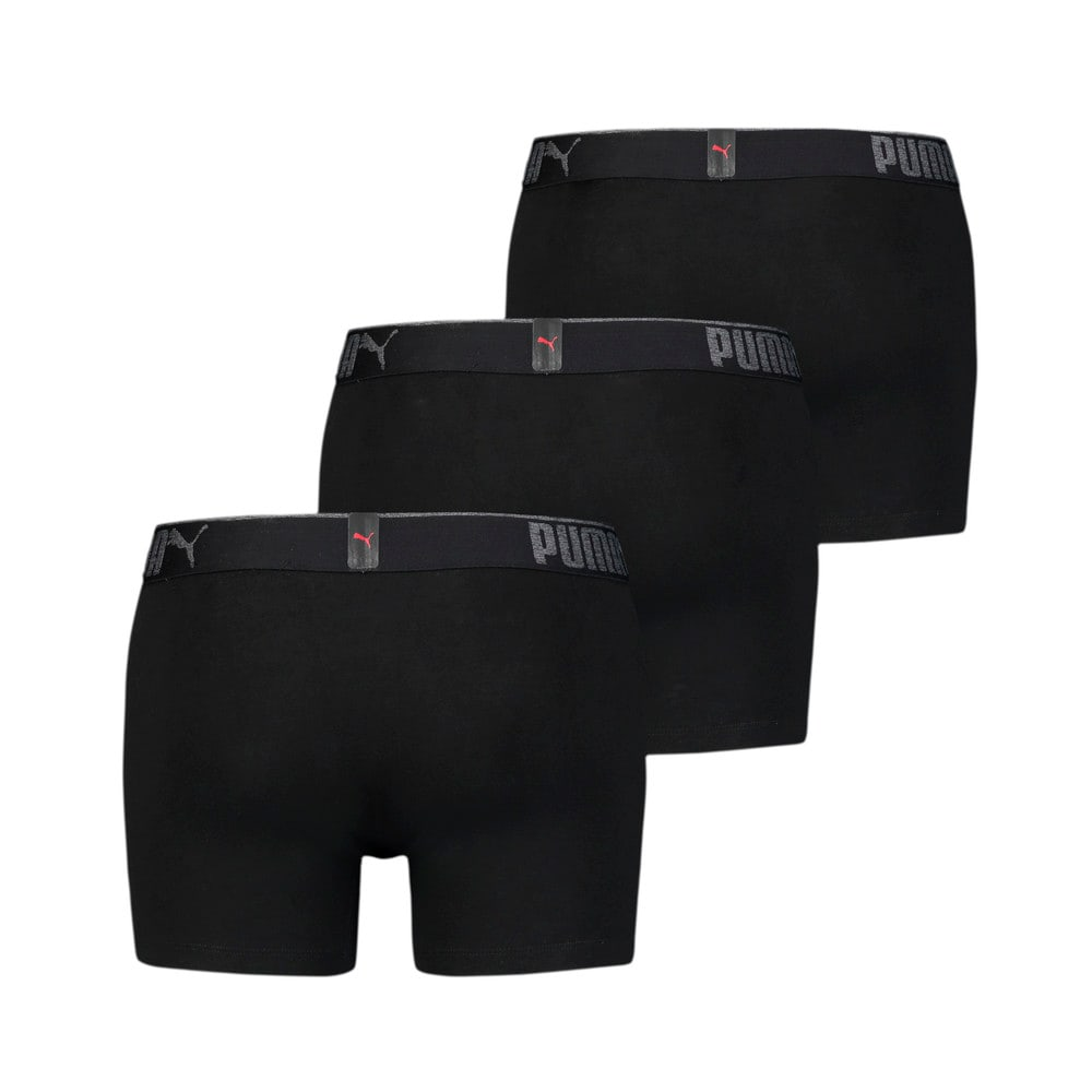 Изображение Puma Мужское нижнее белье  Premium Sueded Cotton Men's Boxers 3pack #2