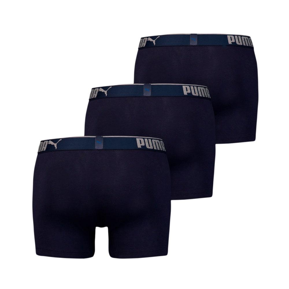 Зображення Puma Чоловіча спідня білизна  Premium Sueded Cotton Men's Boxers 3pack #2