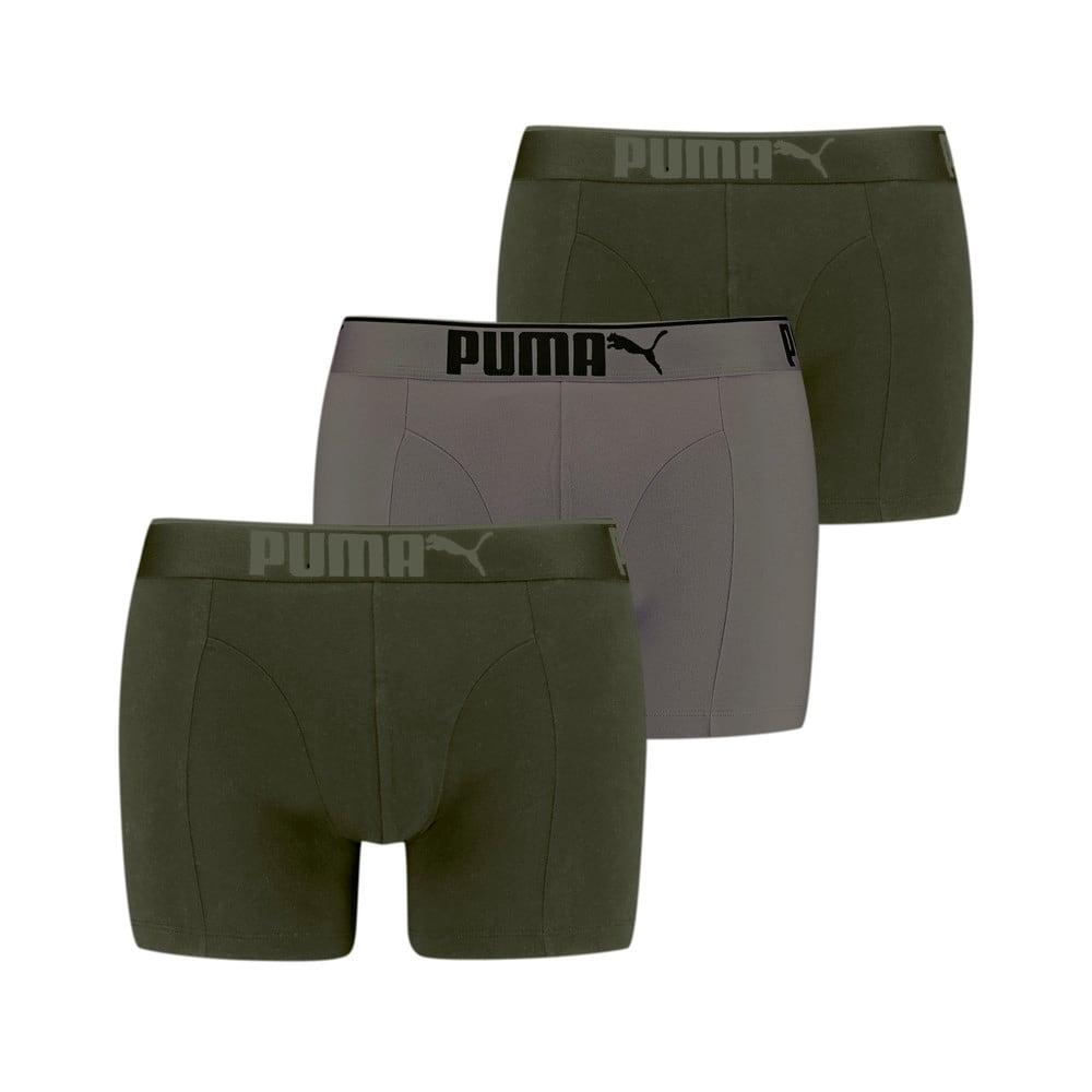 Изображение Puma Мужское нижнее белье  Premium Sueded Cotton Men's Boxers 3pack #1