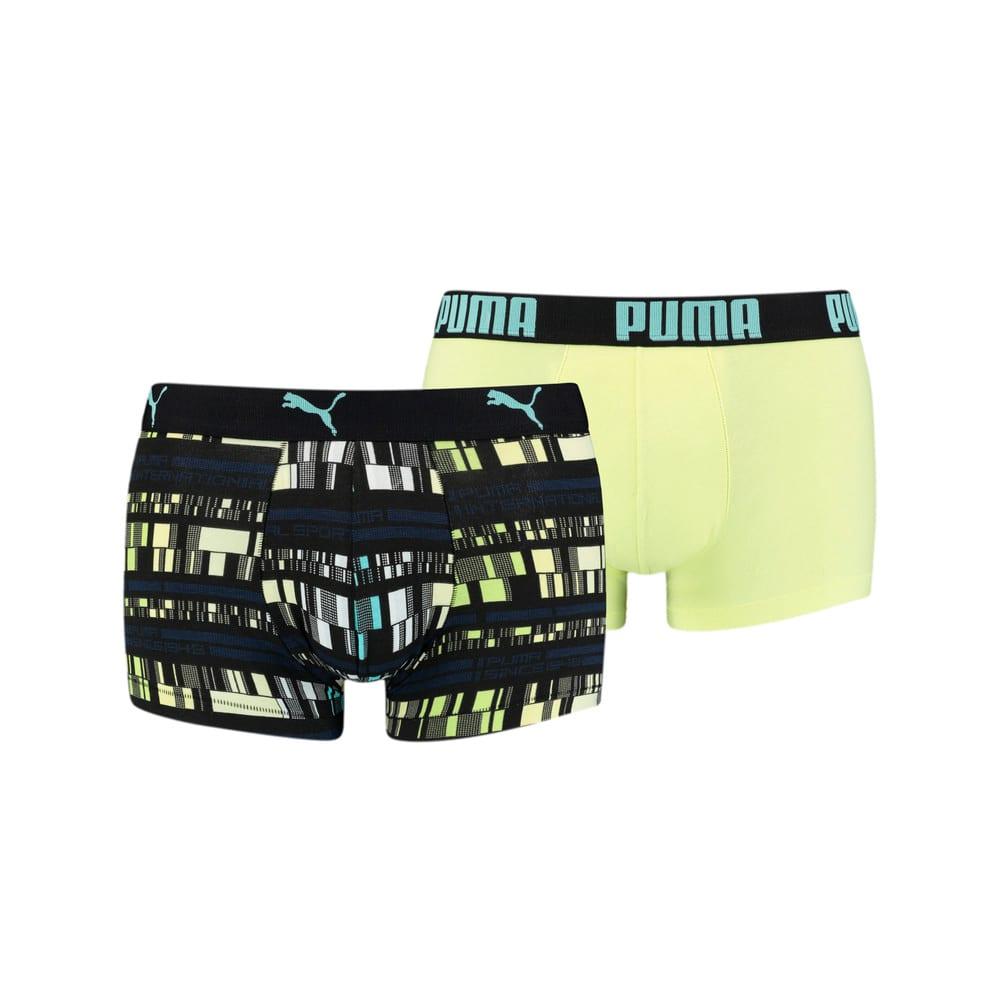 Изображение Puma Мужское нижнее белье  Men's All-Over-Print Trunk 2pack #1