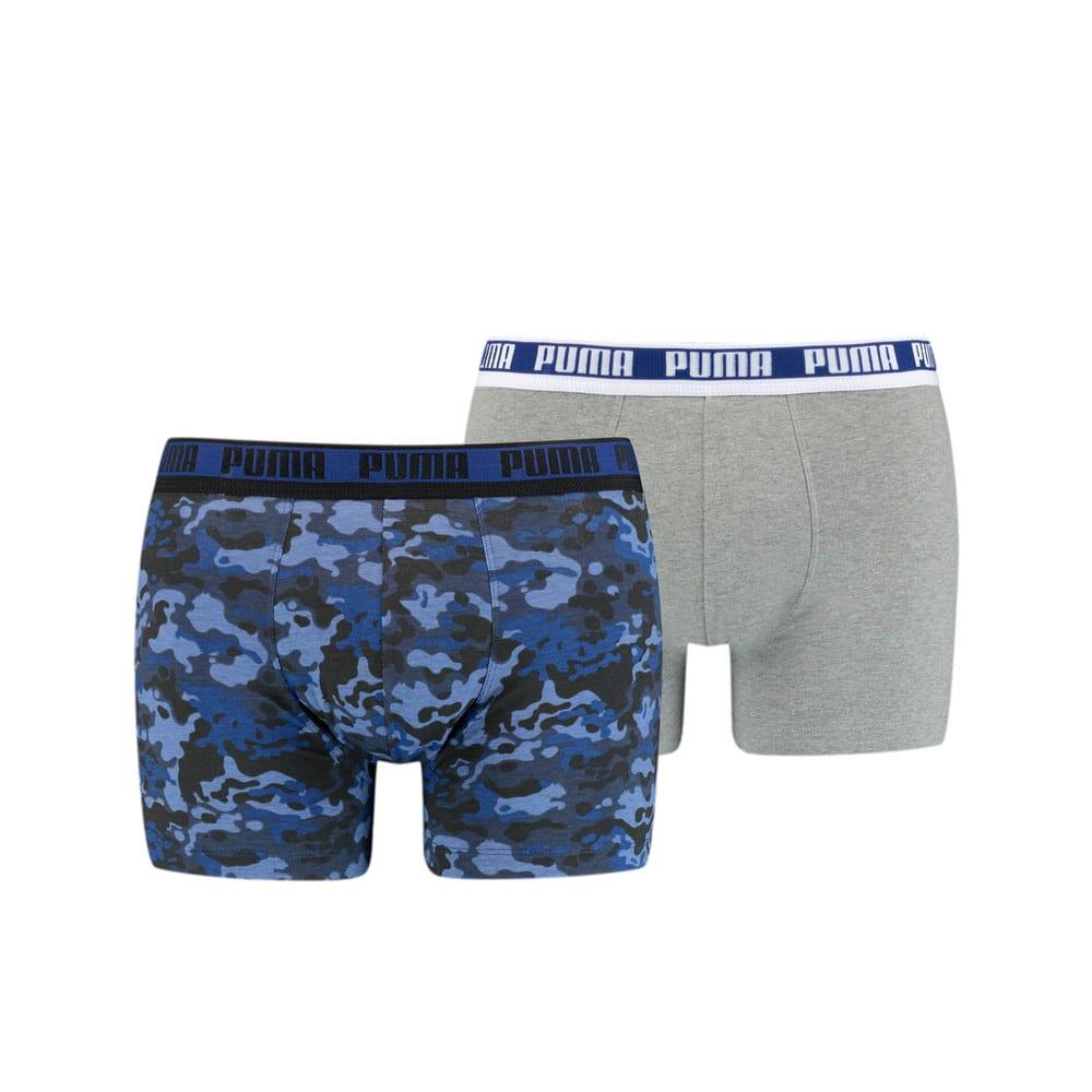 Зображення Puma Чоловіча спідня білизна  Men's Camo Boxer 2 pack #1