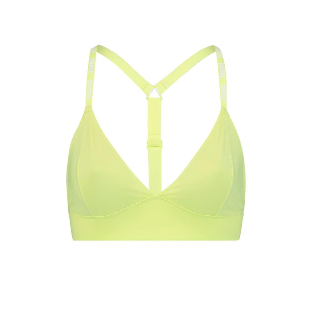 Изображение Puma Бюстгальтер Women's Triangle Bralette 1 pack #1: Yellow