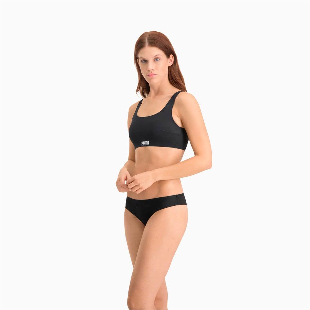 Изображение Puma Спортивный мягкий топ Women's Sporty Padded Top 1pack #2: black