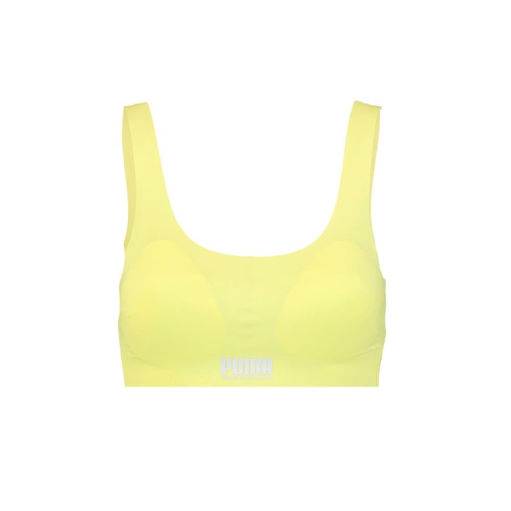 Зображення Puma Спортивний м'який топ Women's Sporty Padded Top 1pack #1: Yellow