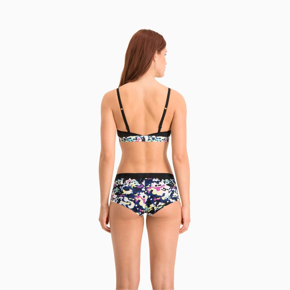 Зображення Puma Жіноча спідня білизна Women's Printed Mini Short 2 Pack #2: black combo