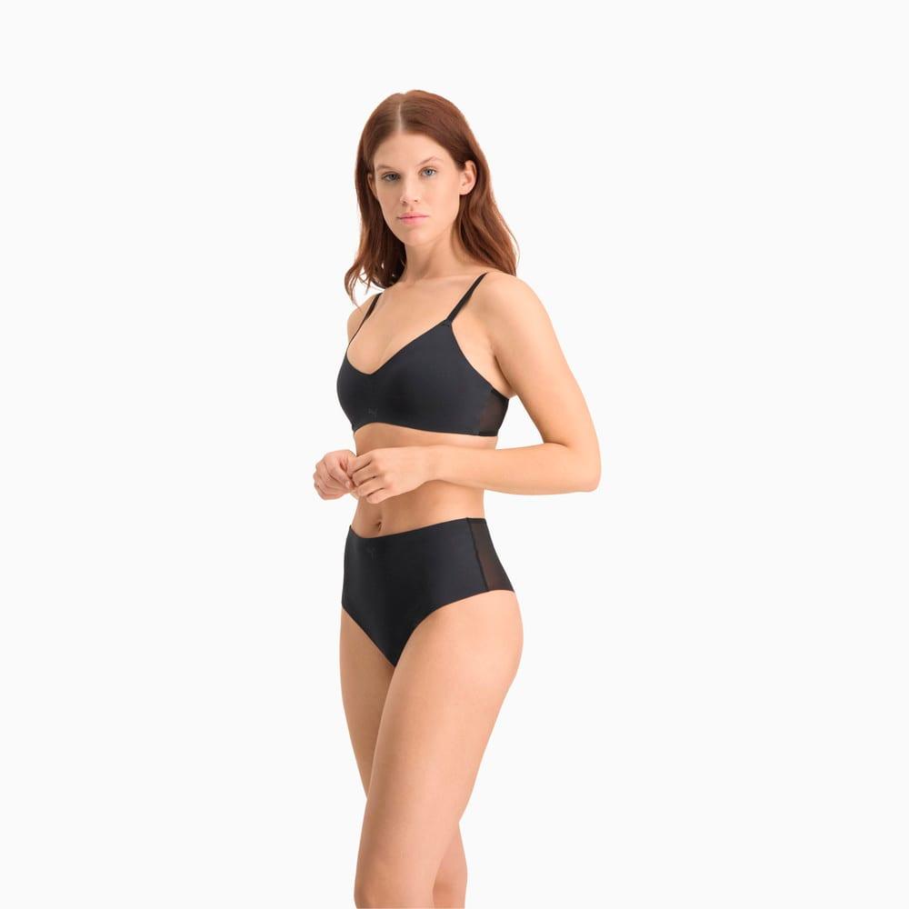 Изображение Puma Женское нижнее белье Women's 2nd Skin High Rise Brazilian 1 pack #2