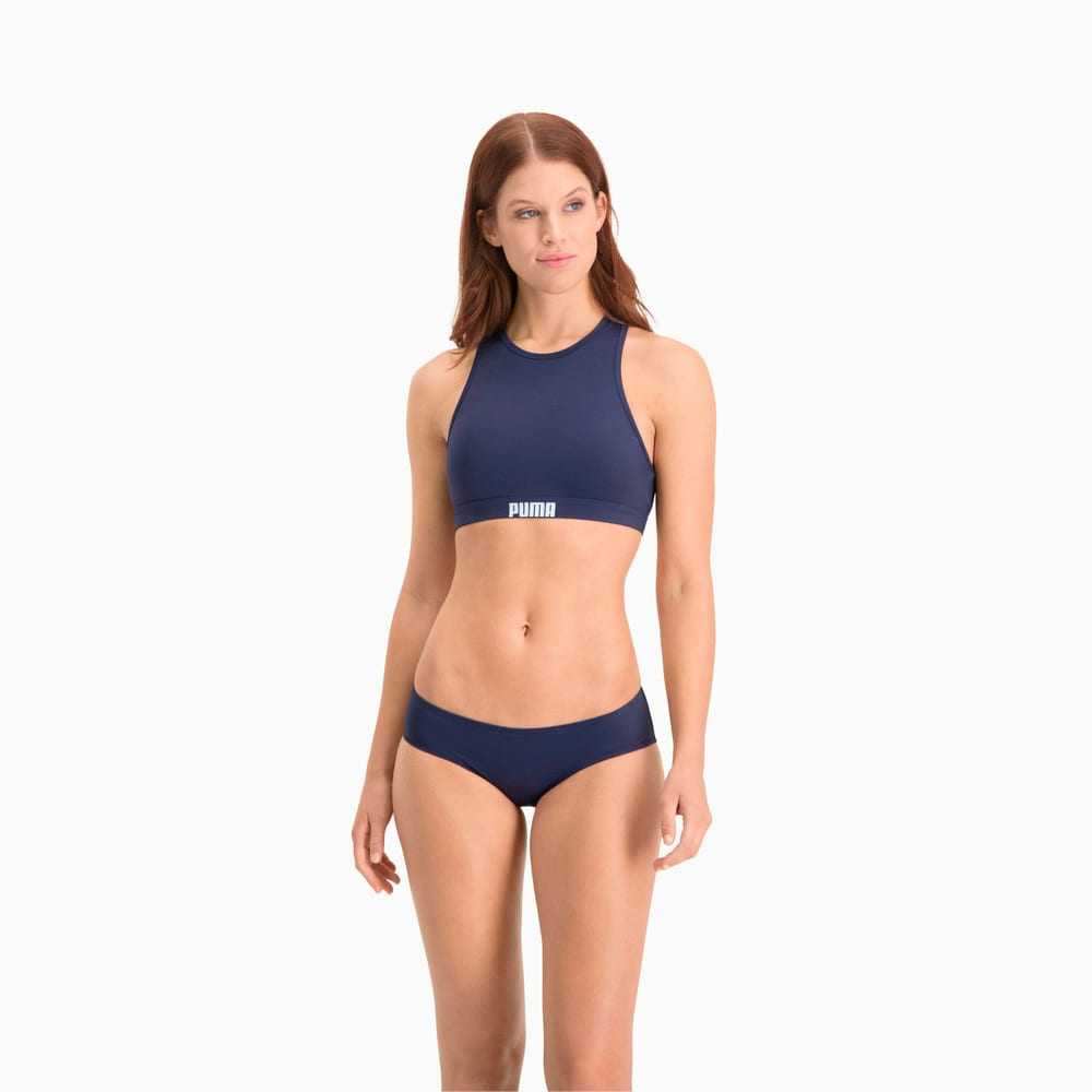Изображение Puma Плавки Swim Women's Hipster Bottom #1: navy