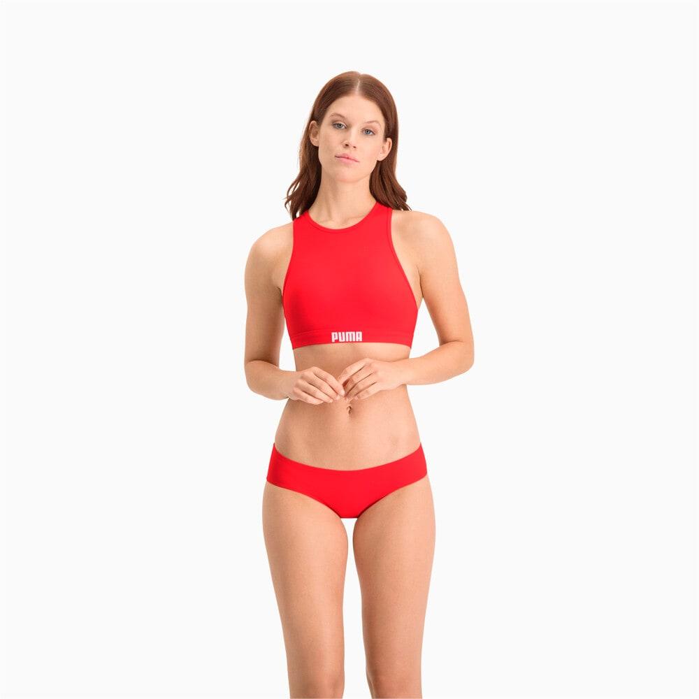 Зображення Puma Плавки Swim Women's Hipster Bottom #1: Red