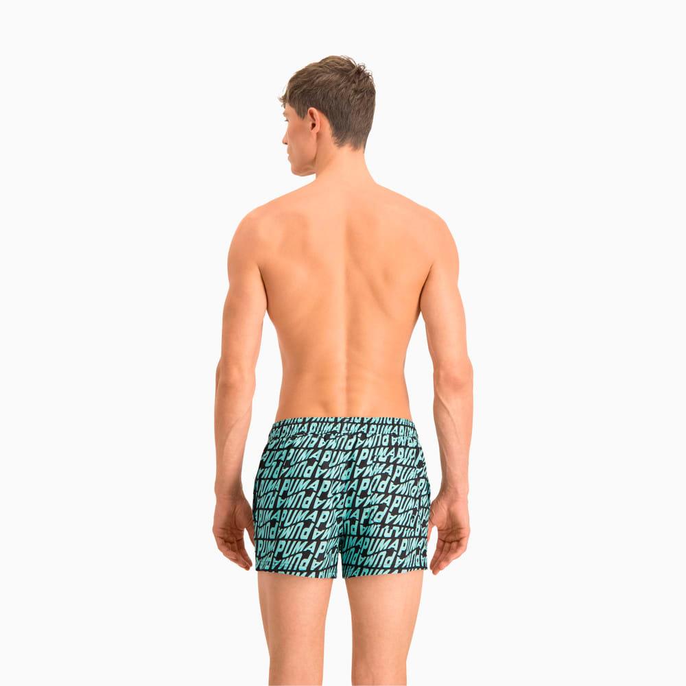 Изображение Puma Шорты для плавания Swim Men's Wave All-Over-Print Short Swimming Shorts #2: blue combo