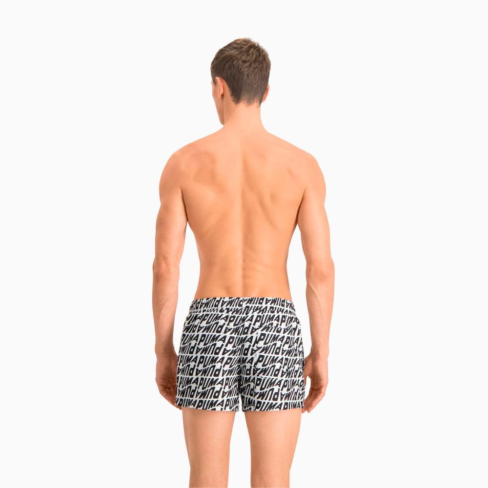 Изображение Puma Шорты для плавания Swim Men's Wave All-Over-Print Short Swimming Shorts #2