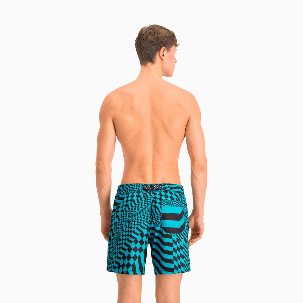 Изображение Puma Шорты для плавания Swim Men's PsyGeo All-Over-Print Mid Swimming Shorts #2