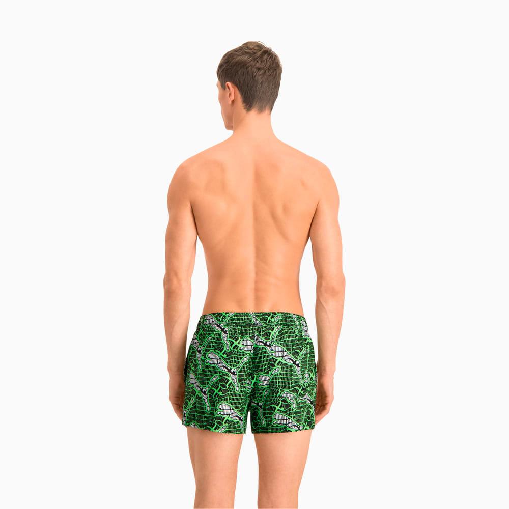 Изображение Puma Шорты для плавания Swim Men's Cat Logo All-Over-Print Short Shorts #2