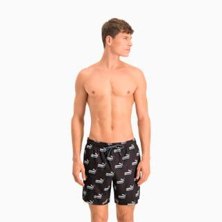 Изображение Puma Шорты для плавания Swim Men's No. 1 Logo All-Over-Print Mid Shorts