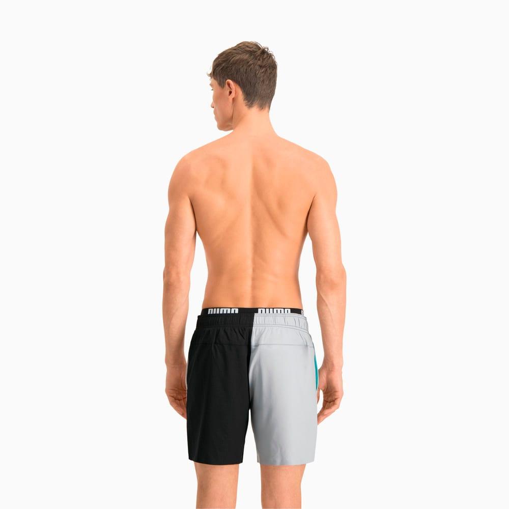 Изображение Puma Шорты для плавания Swim Men's Colour Block Mid Shorts #2
