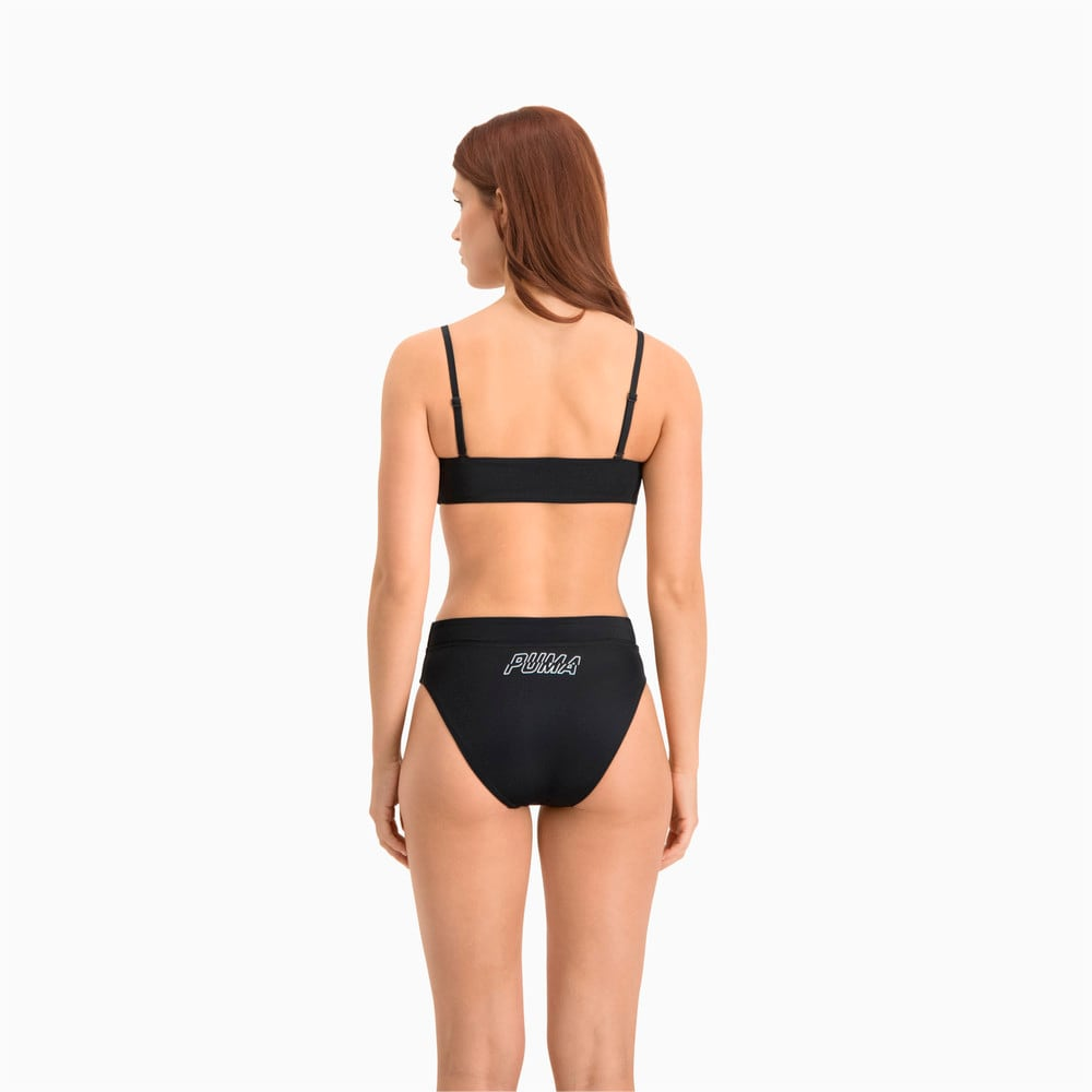 Зображення Puma Плавки Swim Women's High Waist Brief #2: black combo