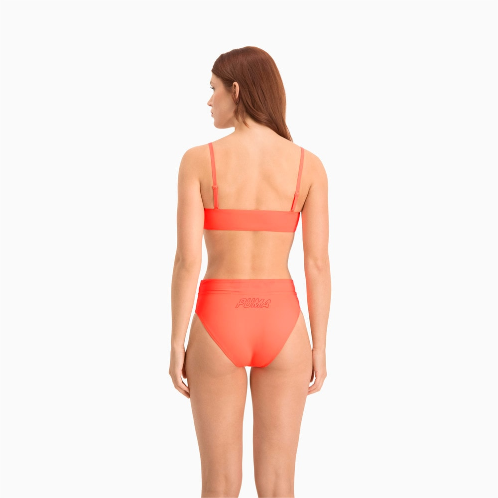 Изображение Puma Плавки Swim Women's High Waist Brief #2: pink