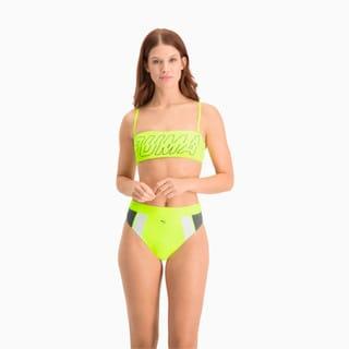Зображення Puma Топ-бандо для плавання Swim Women's Bandeau Top