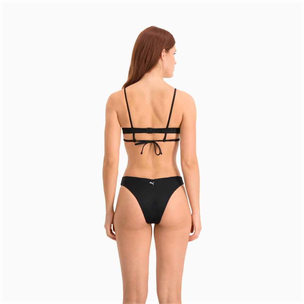 Изображение Puma Лиф для плавания Swim Women's Peek-a-Boo Top #2: black
