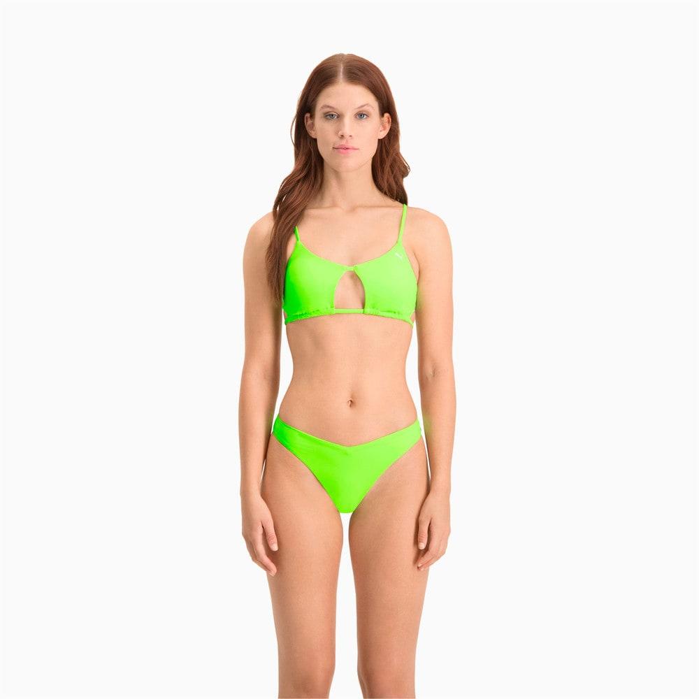 Зображення Puma Плавки Swim Women's V-Shape Brief #1: neon green
