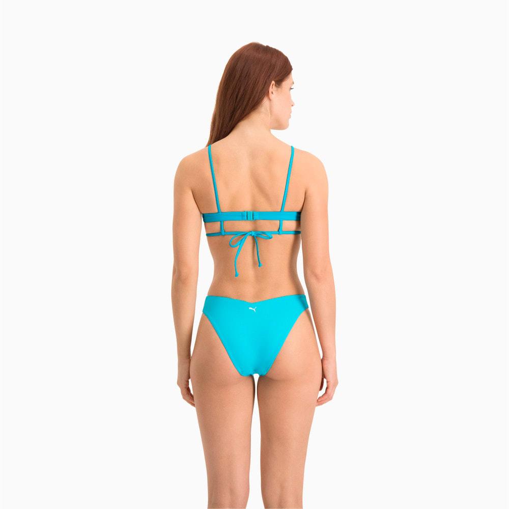 Зображення Puma Плавки Swim Women's V-Shape Brief #2: scuba blue