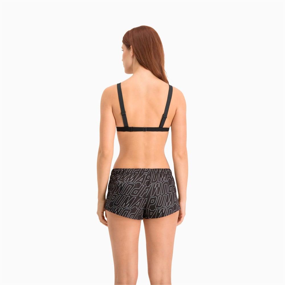 Изображение Puma Шорты для плавания Swim Women's Printed Boardshorts #2: black combo