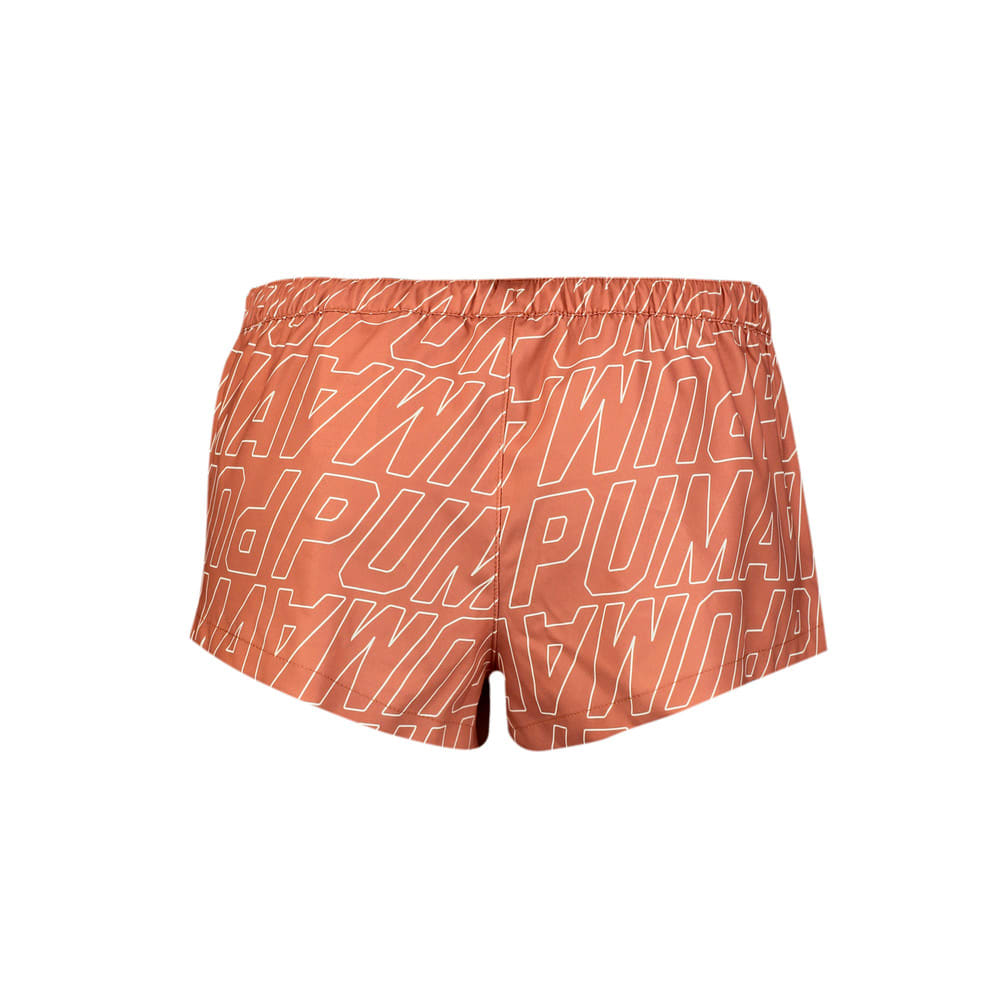 Изображение Puma Шорты для плавания Swim Women's Printed Boardshorts #2: Brown