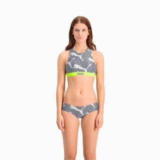 Изображение Puma Лиф для плавания Swim Women's All-Over-Print High Neck Top