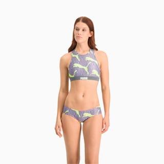 Зображення Puma Ліф для плавання Swim Women's All-Over-Print High Neck Top