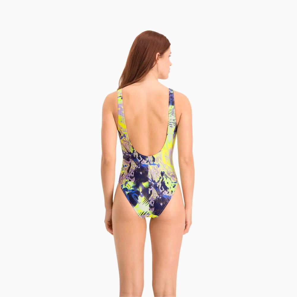 Изображение Puma Купальник Swim All-Over-Print Swimsuit #2
