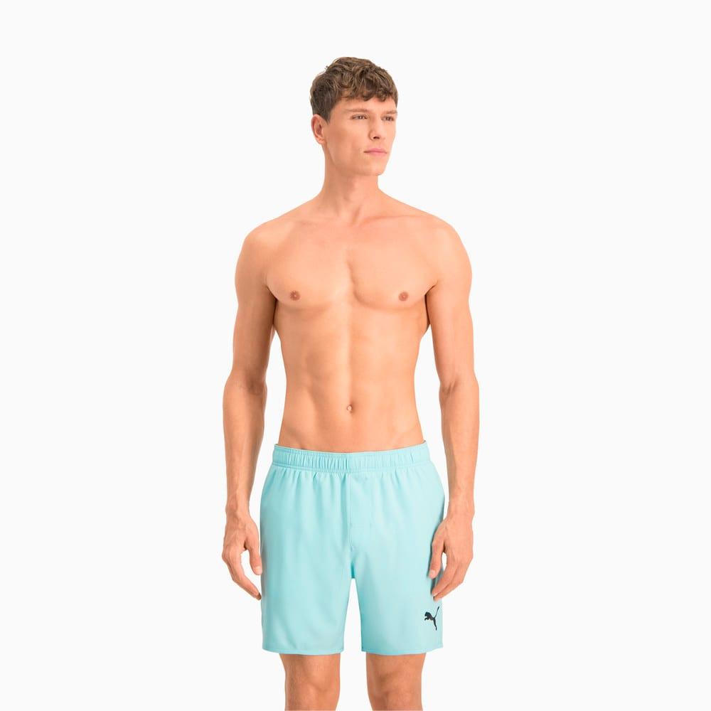 Изображение Puma Шорты для плавания Swim Men's Mid Shorts #1