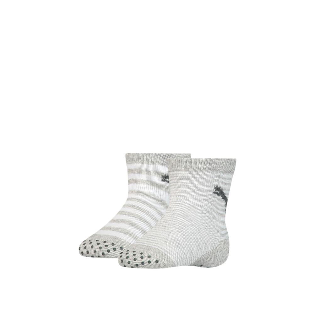 Зображення Puma Шкарпетки для дітей ABSBaby Socks 2pack #1: grey melange