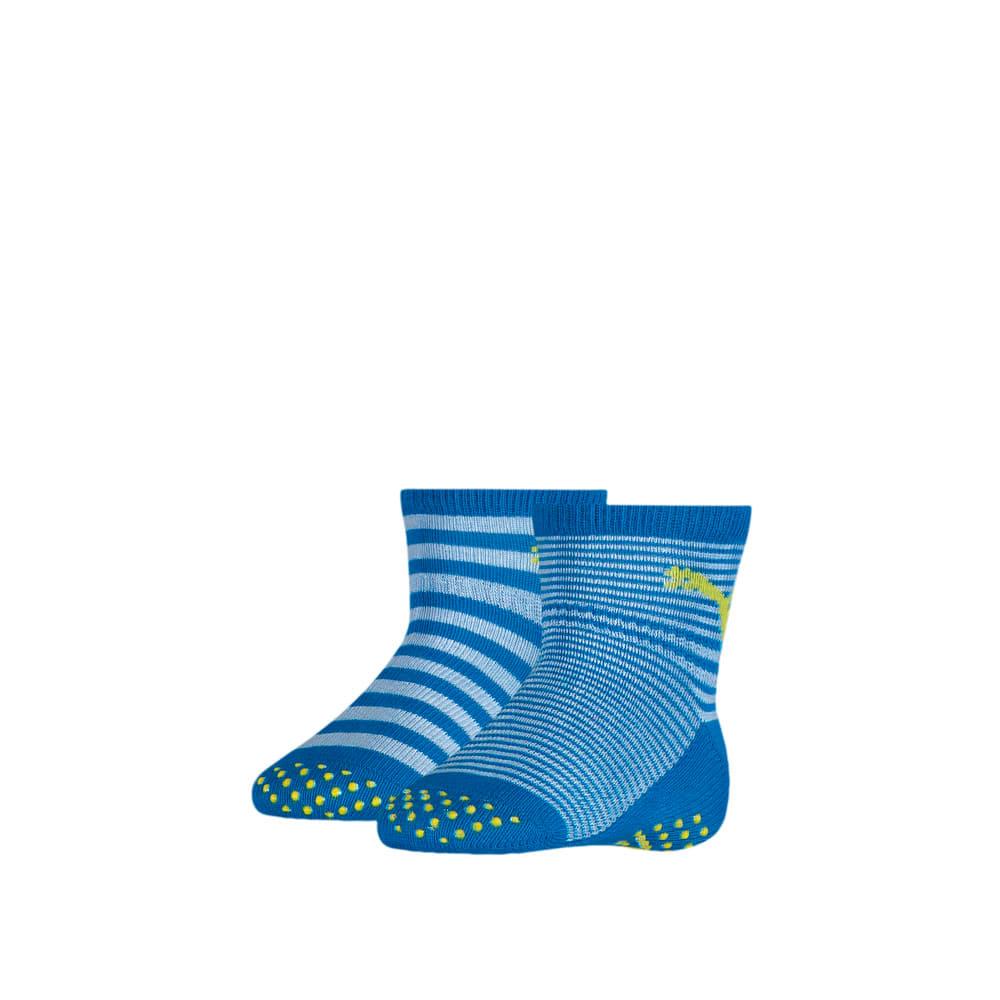 Изображение Puma Носки для детей ABSBaby Socks 2pack #1: blue green combo