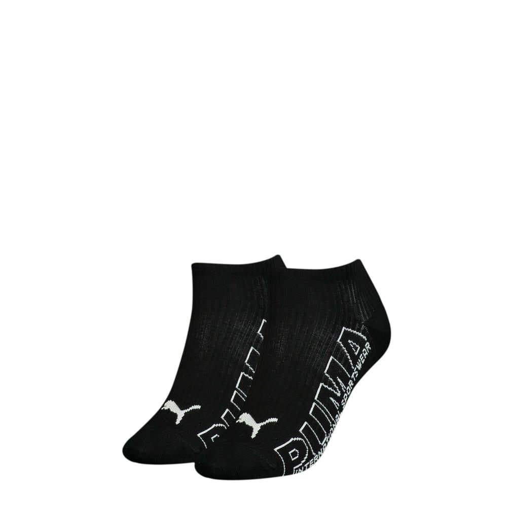 Изображение Puma Носки Women's Outline Logo; набор из 2 пар #1: black combo