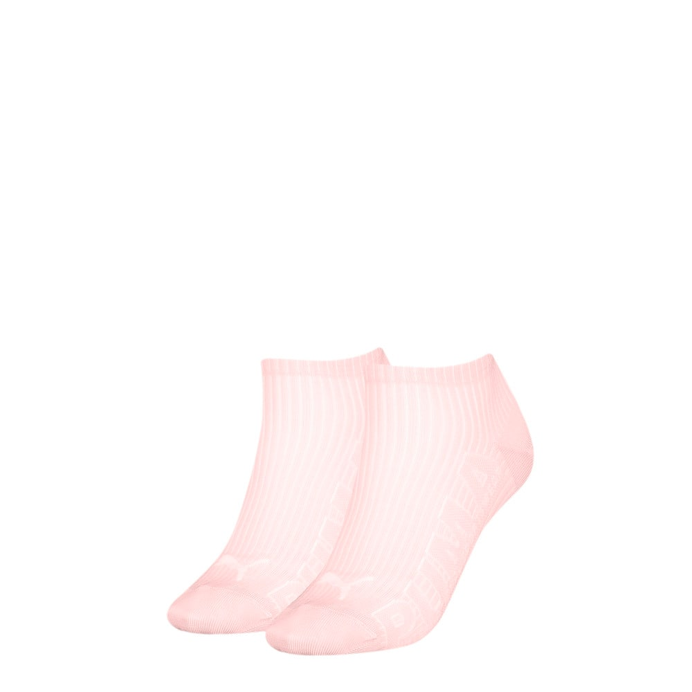 Зображення Puma Шкарпетки Women's Outline Logo; набір з 2 пар #1: pink combo