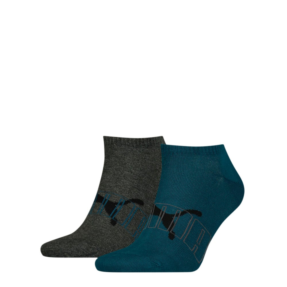 Зображення Puma Шкарпетки Men's Outline Logo; набір з 2 пар #1: blue / grey