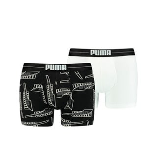 Изображение Puma Мужское нижнее белье Men's Formstrip All-Over-Print Boxers 2 pack