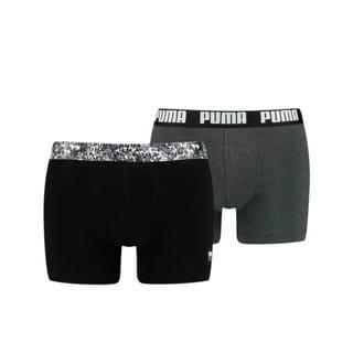 Изображение Puma Мужское нижнее белье Men's Printed Elastic Boxers 2 pack