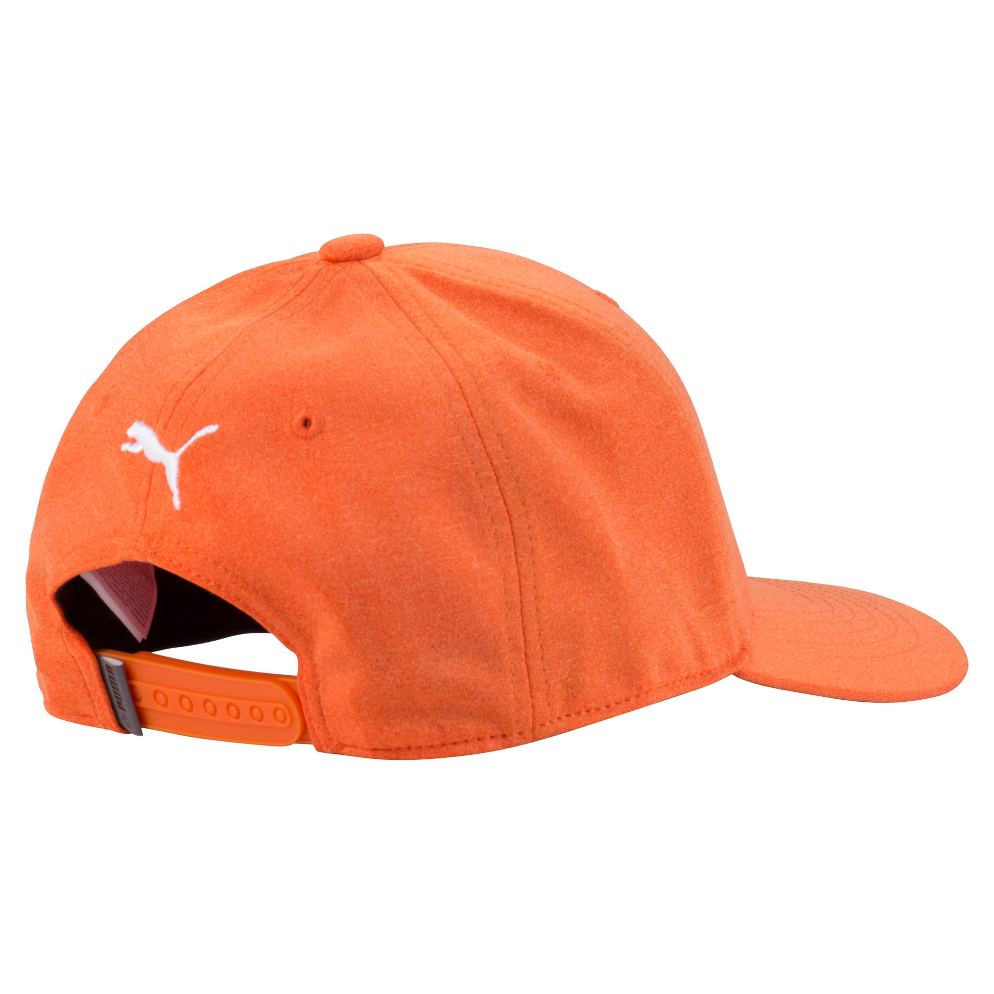 Thumbnail 2 of P Snapback Hat, Vibrant Orange, medium