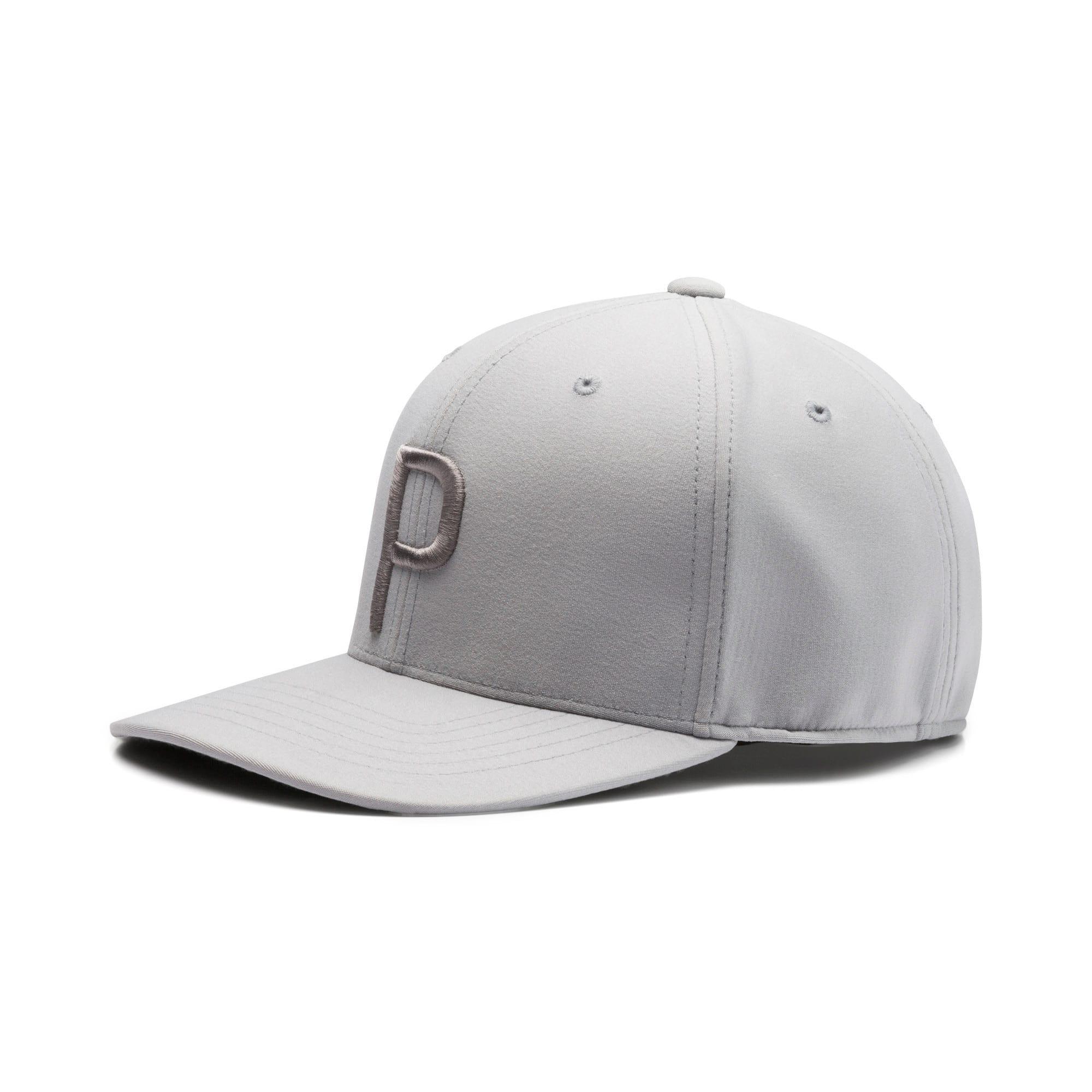Thumbnail 1 of P Snapback Hat, Quarry-QUIET SHADE, medium