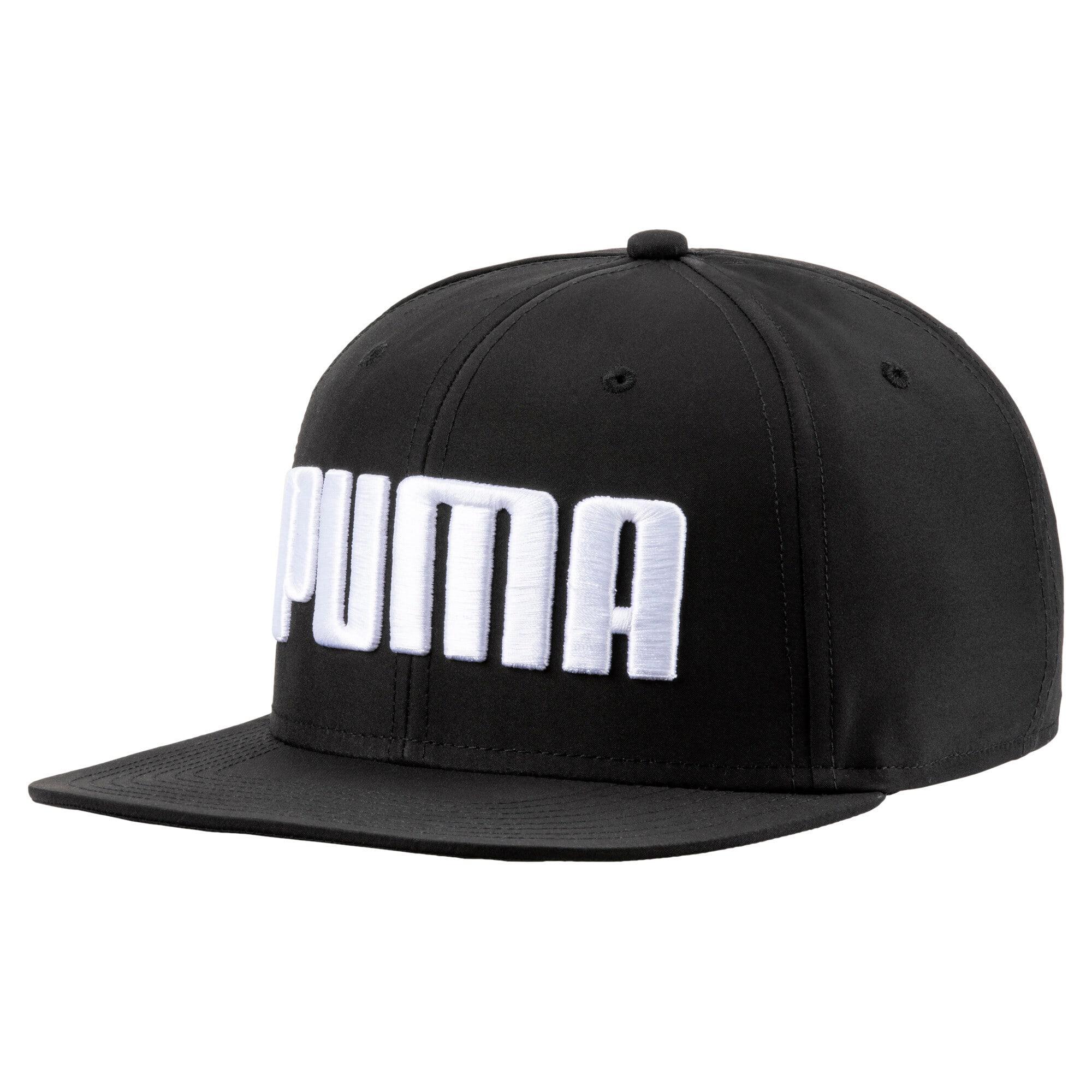 Thumbnail 1 of Flatbrim Cap, Puma Black, medium
