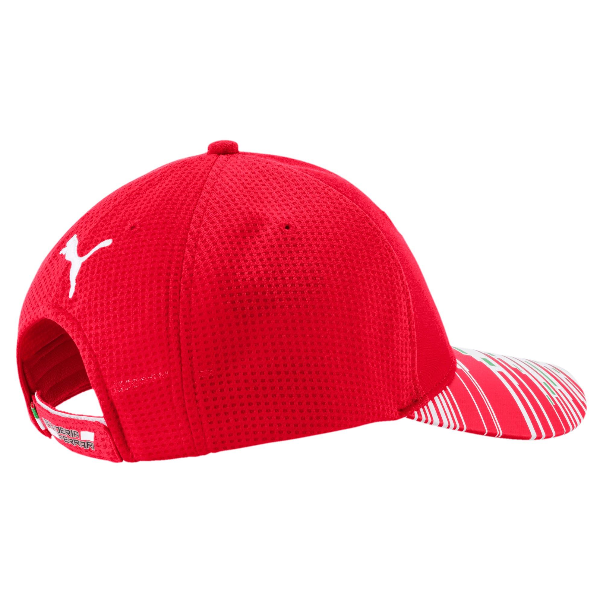 Thumbnail 2 of Scuderia Ferrari Replica Team Hat JR, rosso corsa, medium