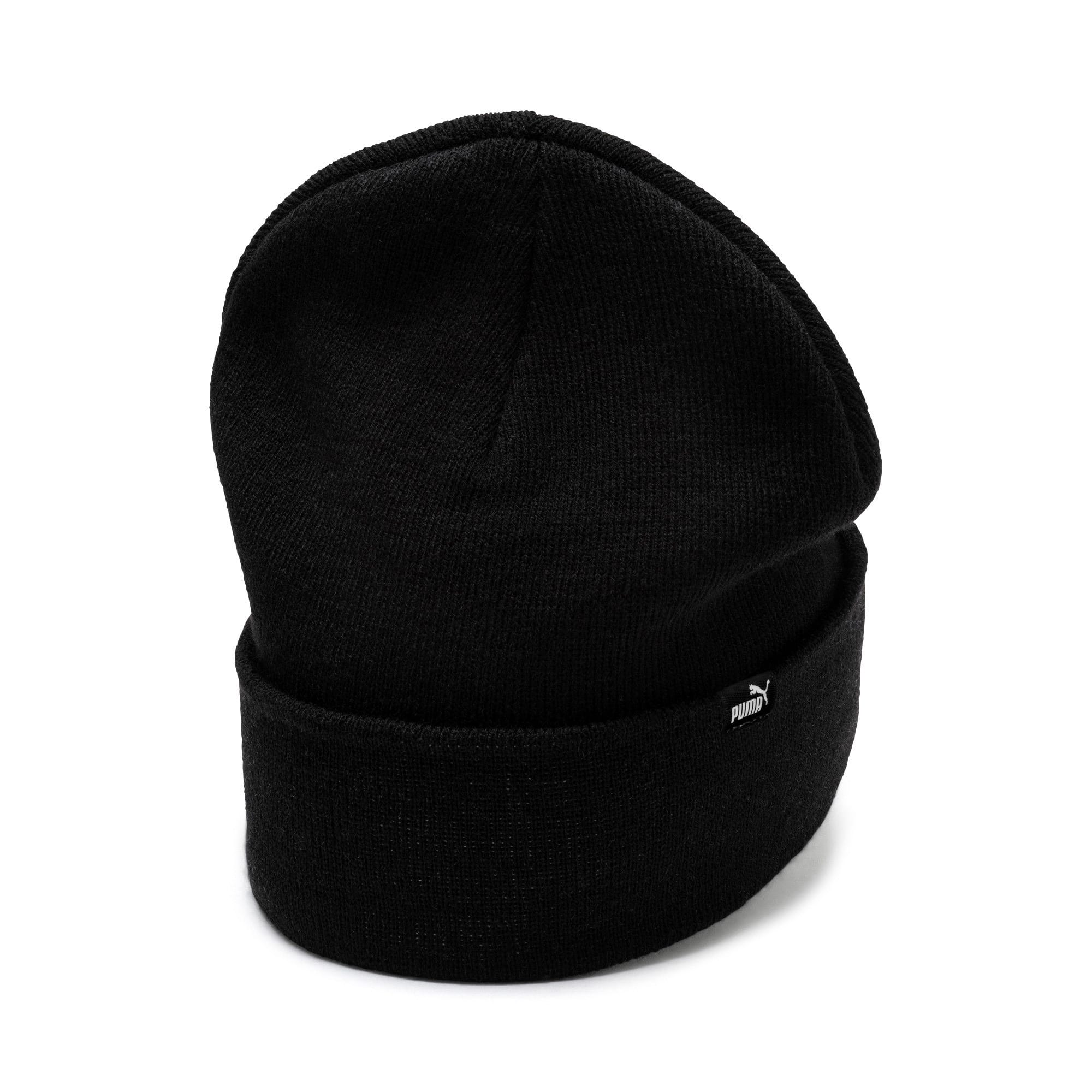 Thumbnail 2 of Mid Fit Beanie, Puma Black, medium