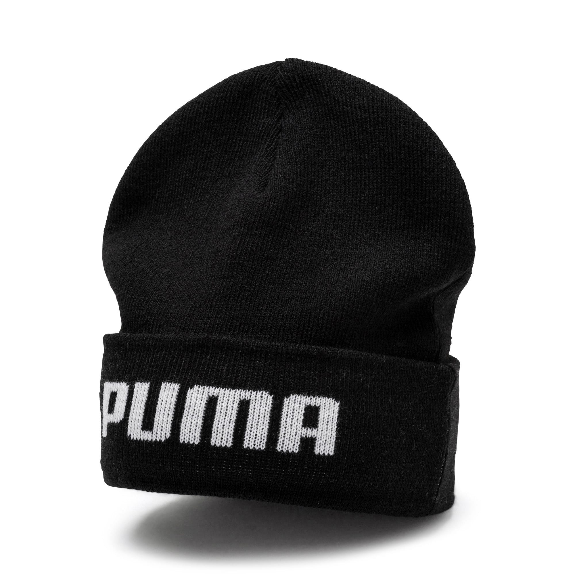 Thumbnail 1 of Mid Fit Beanie, Puma Black, medium