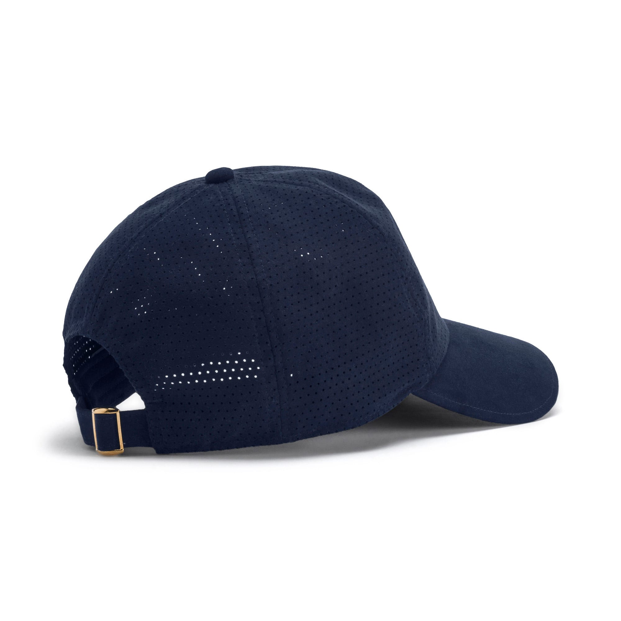 Thumbnail 2 of Suede Baseball Cap, Peacoat, medium