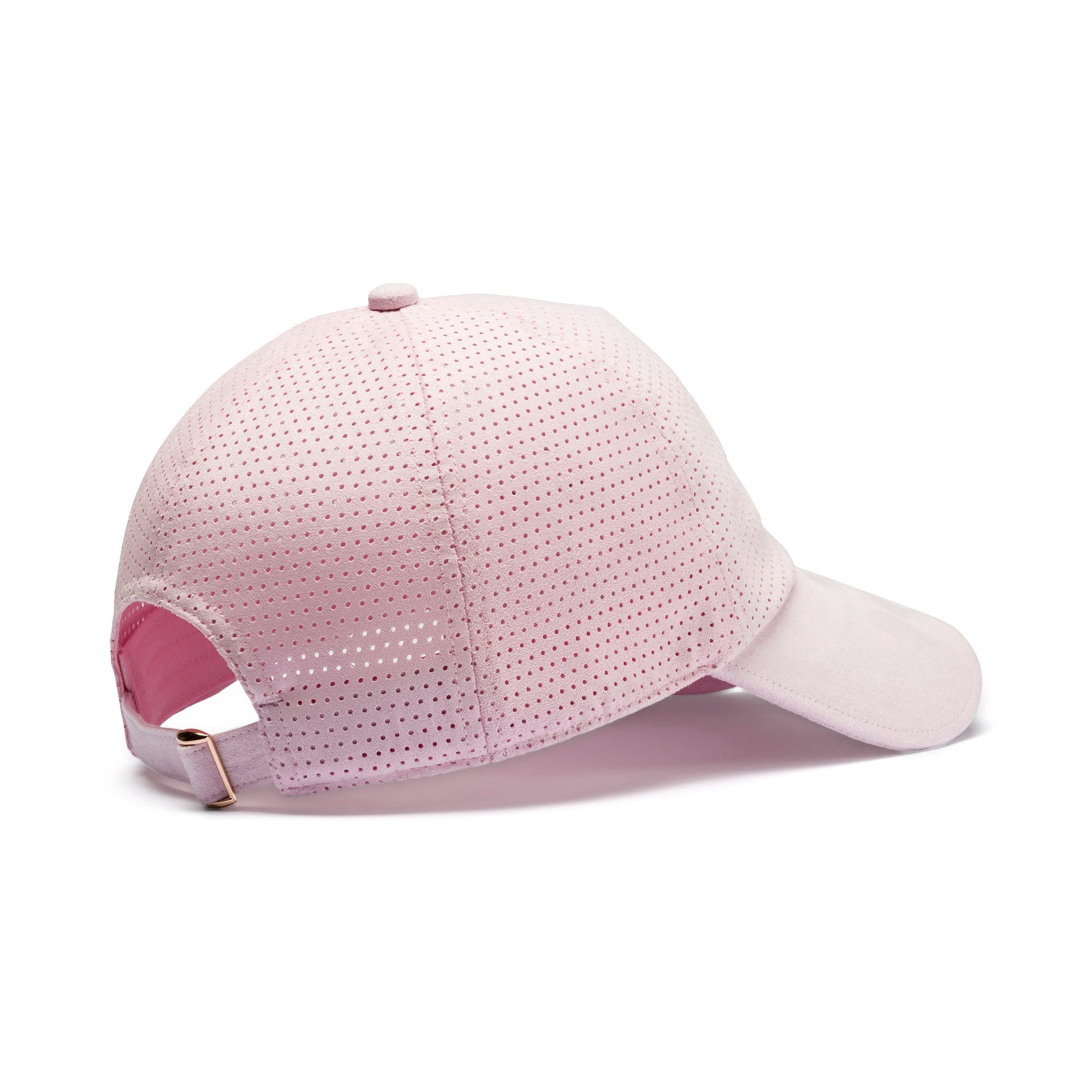 Thumbnail 2 of Suede Baseball Cap, Lilac Sachet, medium